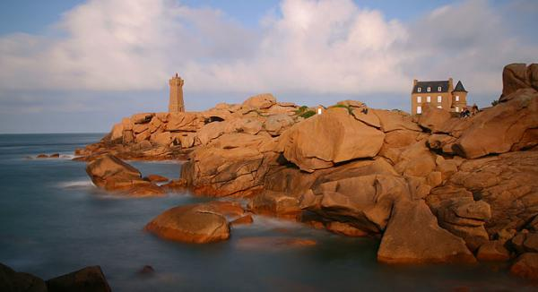 La côte de granit rose, le site de Ploumanac'h.