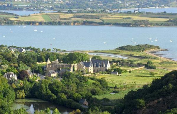 Le site de l'abbaye de Beauport.