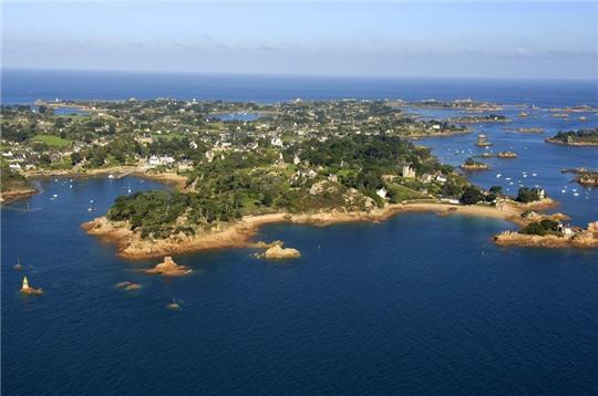 L'île de Bréhat.